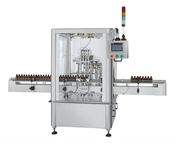 New CVC Model 3036-4H 4-Head Volumetric Piston Filler